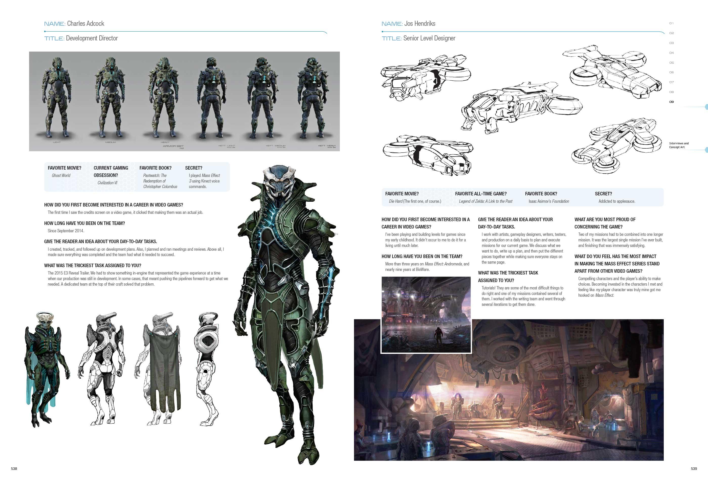 Mass Effect Andromeda Daniel Caparo